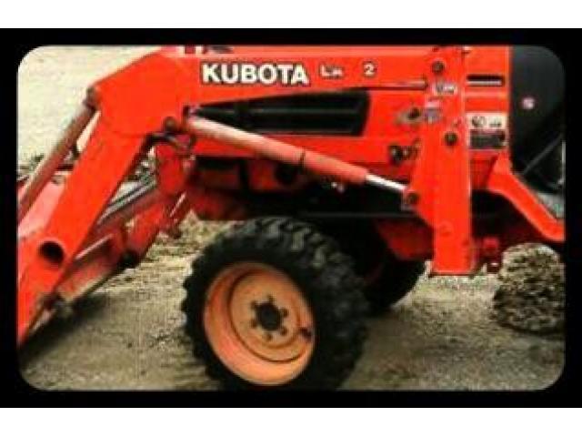 Продам мини трактор  Kubota B2910. - 4/8