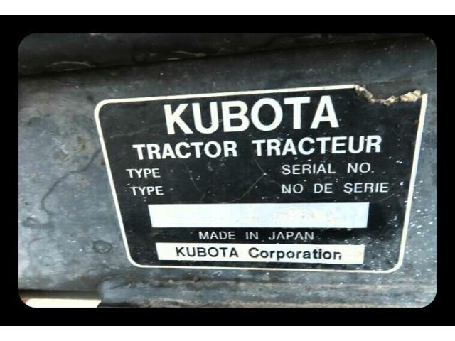 Продам мини трактор  Kubota B2910. - 6/8