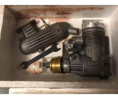 Микродвигатель авиамодельный новый МДС 6.5