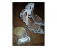 Свадебные туфли новые размер 39.