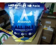 Таблетки для посудомоечных машин Astonish