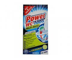 Таблетки для унитаза Power WC Tabs