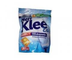 Капсулы для посудомоечной машины Herr Klee - 20 шт в упаковке