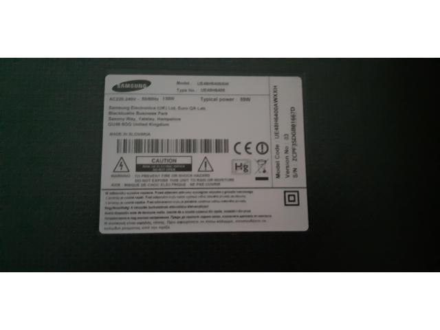 Телевизор SAMSUNG UE48H6400AW - 2/2