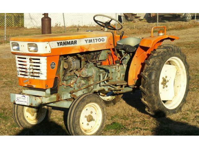 Продам минни трактор  Yanmar YM1700. - 1/11