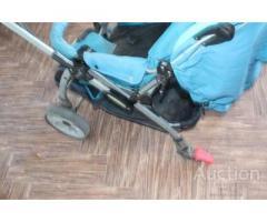 Детская коляска Джоби без 2 колес
