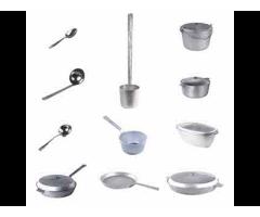 Алюминиевая литая посуда.