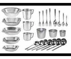 Туристическая посуда для рыбаков и охотников.