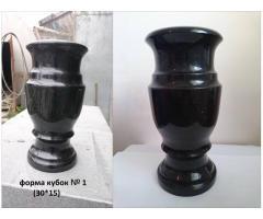 Гранитные букинские вазы от производителя оптом и в розницу