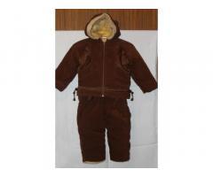 Зимовий костюм - куртка+напівкомбінезон на зріст 86-92см, на 1-2 роки