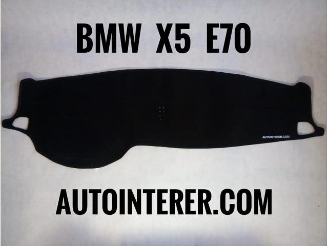 Накидка на панель торпеду BMW e30, e 34, e36, e38, e39, X1, x3, x5, x6. - 3/11