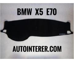 Накидка на панель торпеду BMW e30, e 34, e36, e38, e39, X1, x3, x5, x6. - Изображение 3/11