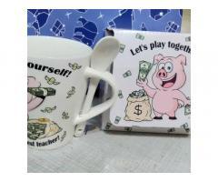Чашка свинка