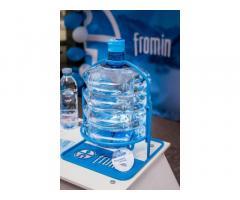 Ищем партнеров в Украине по реализации воды FROMIN