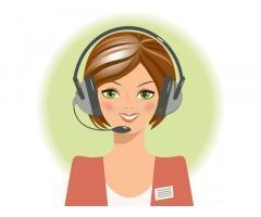 Администратор-девушка в массажный салон