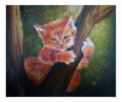 Картина маслом 50х60 см