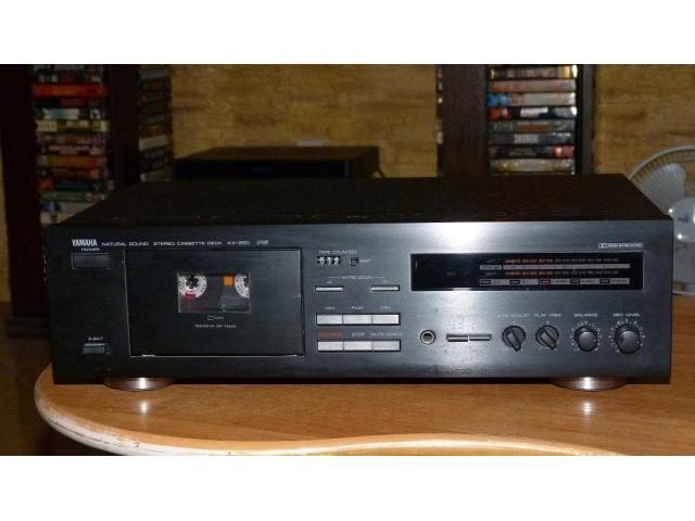 Продам ОТЛИЧНУЮ кассетную деку Yamaha KX-260 RS Natural Sound (1993) . - 1/1