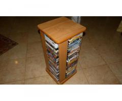 Продам ОТЛИЧНУЮ коллекцию видеокассет в 3-х стойках , 300 шт .