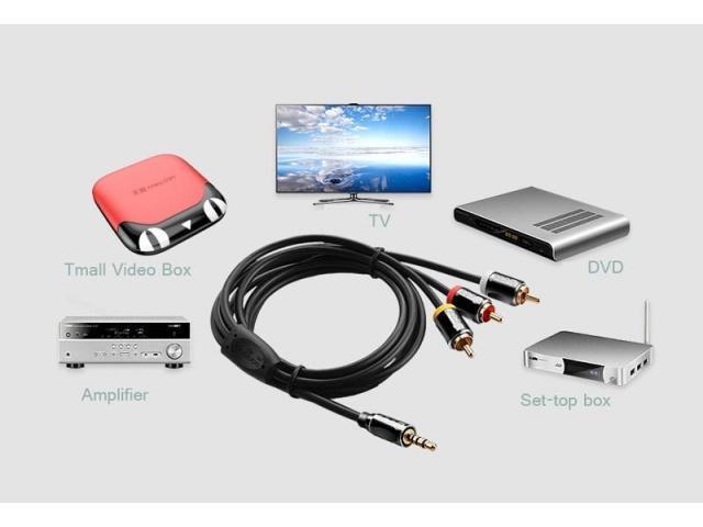 Продам недорого набор кабелей и другие аудио-видео аксессуары. 20 кг ! - 2/4