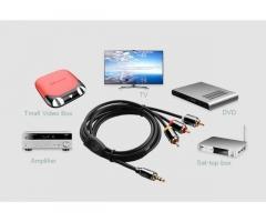 Продам недорого набор кабелей и другие аудио-видео аксессуары. 20 кг !
