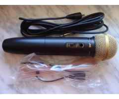 Новый Микрофон JVC PEAC04, Wireless Dynamic Microphone, WIRE & FM