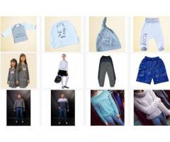 Продажа детской и взрослой одежды оптом и в розницу