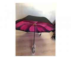 Зонт обратный Reverse Umbrella ветрозащитный зонт