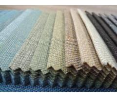 Однатонная рогожка (мебельная ткань)