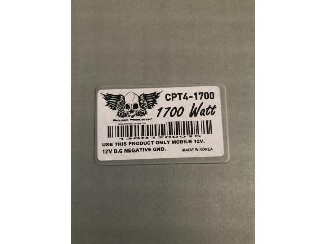Четырехканальный усилитель Power Acoustik CPT4-1700 - 6/7