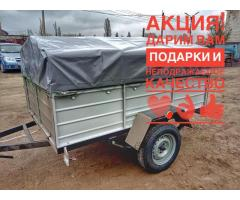 Легковой прицеп Днепр-201 (2000х1200) и другие модели от завода! Тент в подарок