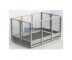 Весы для взвешивания животных 4BDU Х 1250х1250мм 300 кг - 1500 кг