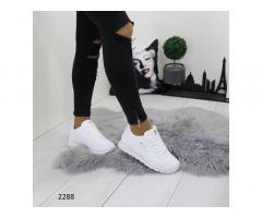 Женские кроссовки белые 2288