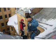 Ремонт козырьков балконов мягкая кровля Харьков