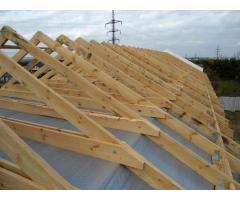 Строительство крыш ангаров, пром зданий