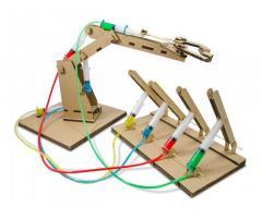 Конструктор «Гидравлик» –гидравлический робот-манипулятор