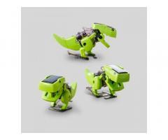 Буронозавр 4 в 1 – конструктор на солнечных батареях