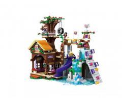 Конструктор JVToy 18001 «Дом на дереве» серия «Новые друзья»