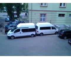 Пассажирские перевозки,трансферы по Украине и Шенгену микроавтобусами.