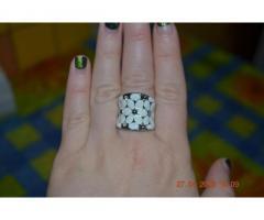 Стильное женское кольцо