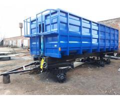 Прицеп тракторный самосвальный 3ПТС-12 (зерновоз).