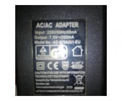 Адаптер ас 7.5v 350ma