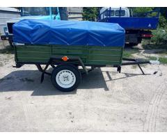 Купить новый легковой прицеп Днепр-200 по доступной цене с колёсами! АКЦИЯ