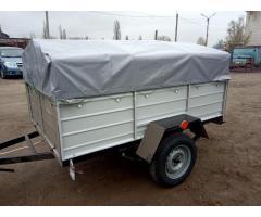 Купить новый легковой одноосный прицеп Днепр-200х130 с колёсами! Доставка по Украине