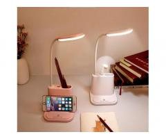 Умная настольная светодиодная лампа 3в1 со встроенным аккумулятором и PowerBank !