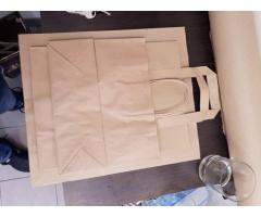 Печать на крафтовых пакетах, изготовление