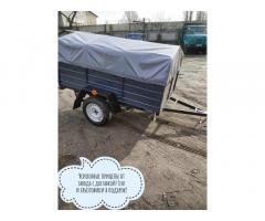 Купить новый прицеп Днепр-200х130 и другие модели от завода!