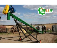 Погрузчик шнековый (зерновой транспортер) Деллиф