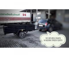 Прицеп к легковому авто усиленный 2500х1500х500 и другие модели прицепов!