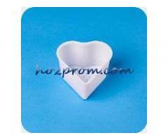 Форма для сыра Сердце Форма для сыра с поршнем Оборудование для сыров