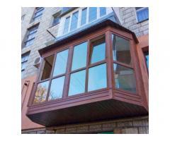 Балкон под ключ, Недорого, Качественно, Окна, Двери